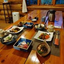 2008 ある日の夕食風景