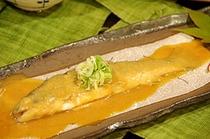 ふるさと料理2010秋(岩魚の信州煮)