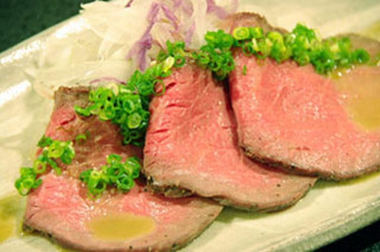 ふるさと料理2010秋(信州牛ボイルドローストビーフ)