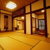 和室22畳三間 - 10畳からの風景。畳にゴロン 好きな本を好きなだけ読む