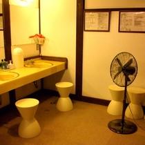 大浴場の脱衣所です