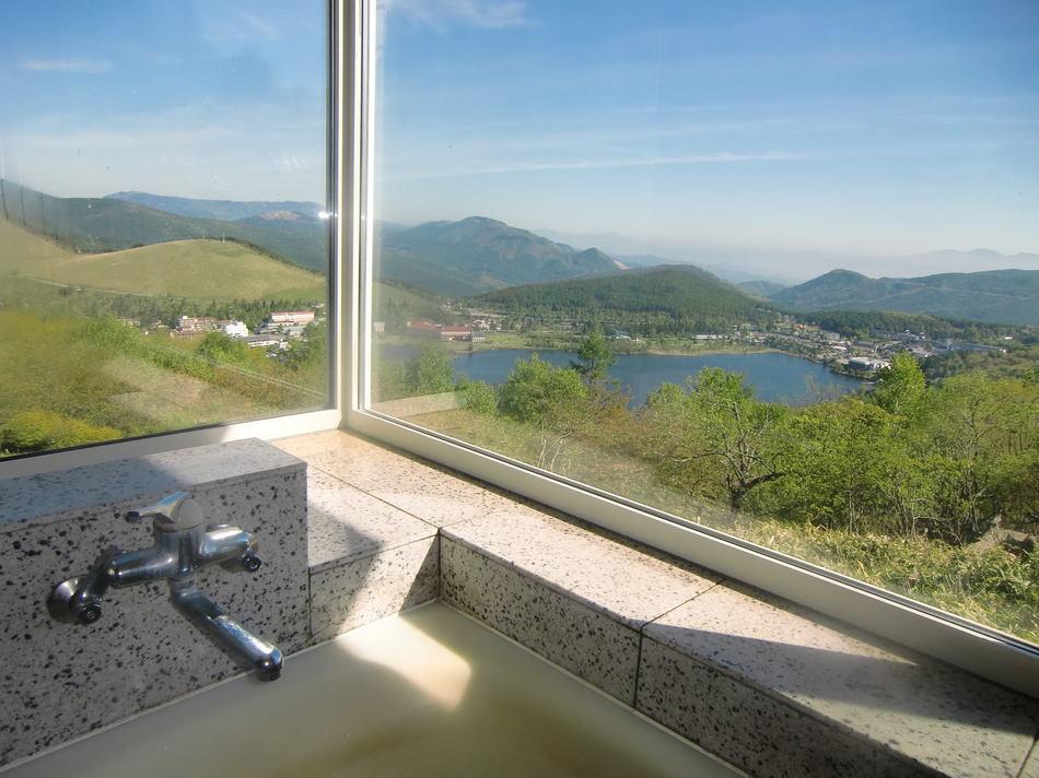 風呂からの眺め(夏)