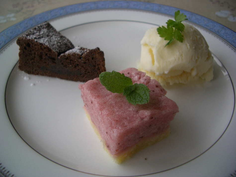 デザートセット(チョコレートケーキ)
