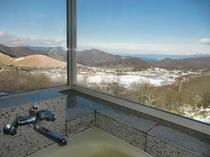風呂からの眺め(冬)