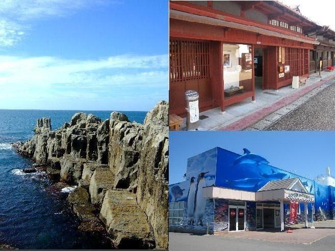 三国町の自然と歴史(東尋坊・三国湊きたまえ通り・越前松島水族館)