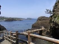 宿から歩いて5分の越前松島