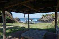 越前松島海岸(宿から歩いて5分の散策コース)