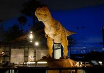 大人気☆恐竜博物館まで車で50分