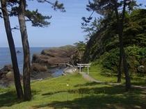 越前松島(国定公園)<宿から歩いて5分>散歩コース
