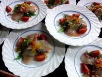 地魚カルパッチョ イメージ