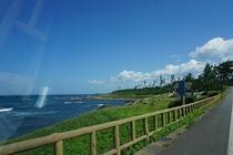 東尋坊~雄島の近道・二ノ浜海岸通