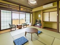 日本海と越前松島を望む昭和レトロ風客室 松島