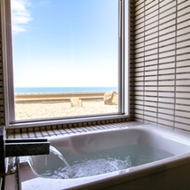 ■特別室一例 人工大理石風呂■