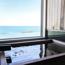 ■特別室一例 檜風呂■