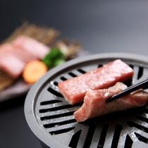 ■ご夕食一例 山形和牛陶板焼■ ※イメージ