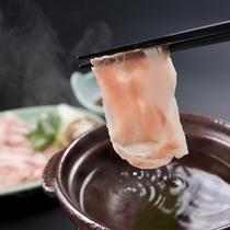 ■ご夕食一例 金華豚のしゃぶしゃぶ■ ※イメージ