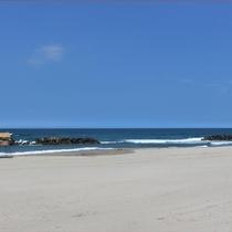 ■湯野浜海水浴場■一久から徒歩30秒