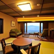 和室<6畳+リビング>【バス付】(野尻湖側)1