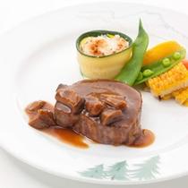 スペシャルディナー お肉料理(一例)