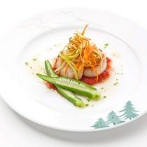 フレンチディナー お魚料理(一例)
