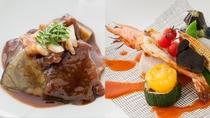 「旬菜ダイニング  白樺」強肴・煮物(一例)