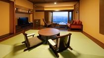 和室〈6畳+リビング〉【バス付】(野尻湖側)1