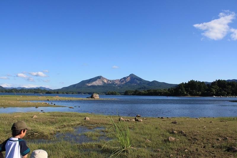 桧原湖畔の夏休み