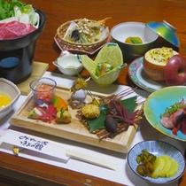 *夕食一例【おすすめプラン】
