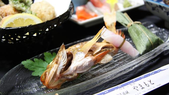 【1泊夕食付き】スタンダード★能登の魚介類を中心としたお料理です!