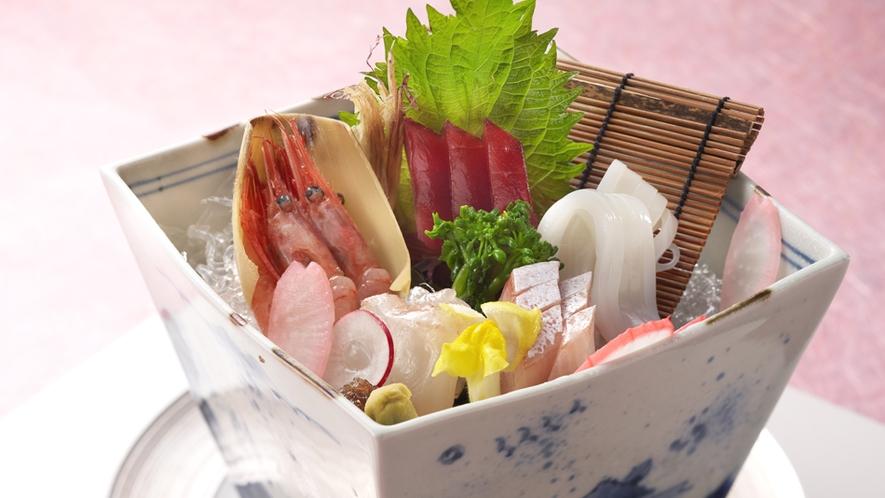 日本海の恵みをふんだんに・・