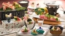 春の美食会席(イメージ)
