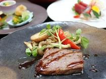 料理イメージ やまがたの旬の食材を使用した和洋折衷料理をお召し上がりください♪