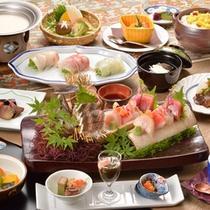 *【夕食(一例)】海の幸をふんだんに使い、素材の味を活かした匠の味をご賞味ください!
