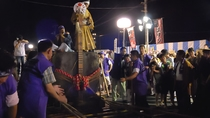 熱川 秋の石挽き祭り