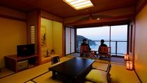 海側【高層階】和室11帖~+広縁-46平米