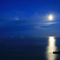 月夜のムーンロード