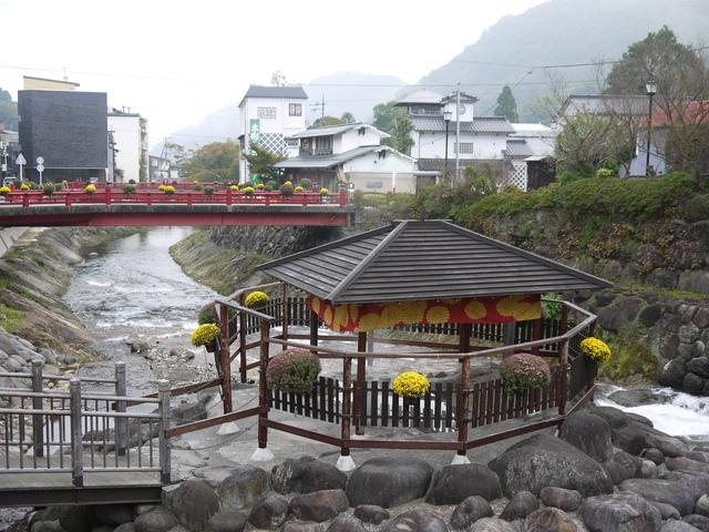 【独鈷の湯】修善寺温泉の中心にあり、伊豆最古の湯といわれてます。