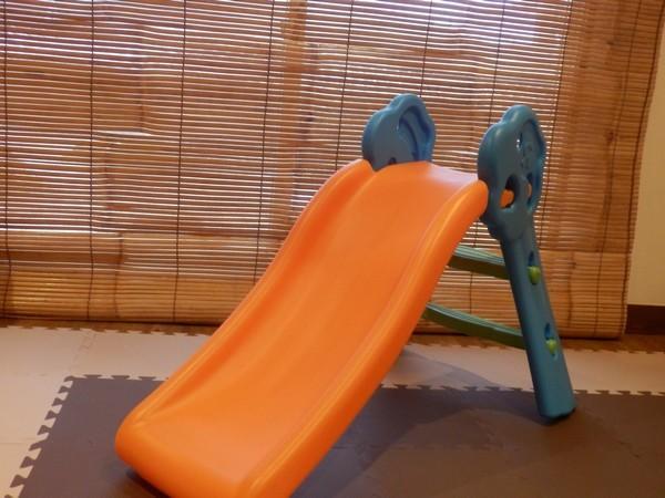【キッズルーム リブール】滑り台はお子様に人気です♪