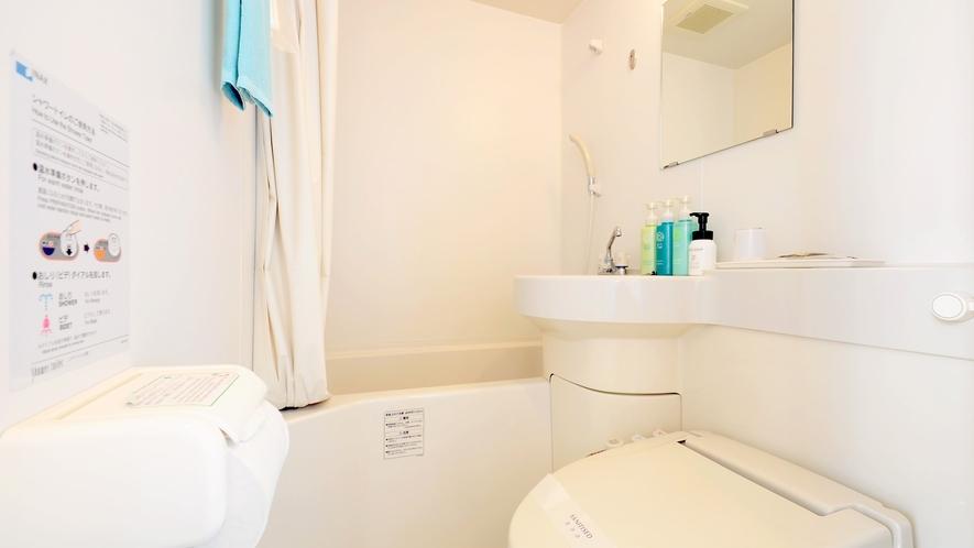 【シングル】清潔に保たれたバス・トイレ