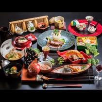 【2015年】ご夕食 *テーマは<「葡萄の浪漫 山辺の郷」~信州ぶどう発祥の地~>