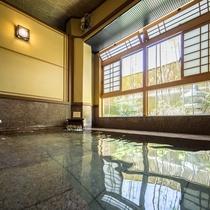 2016年リニューアル大浴場「赤御影座敷風呂」