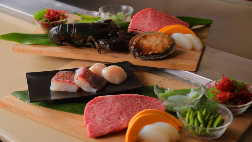 ■鉄板焼-明日香-お料理イメージ■