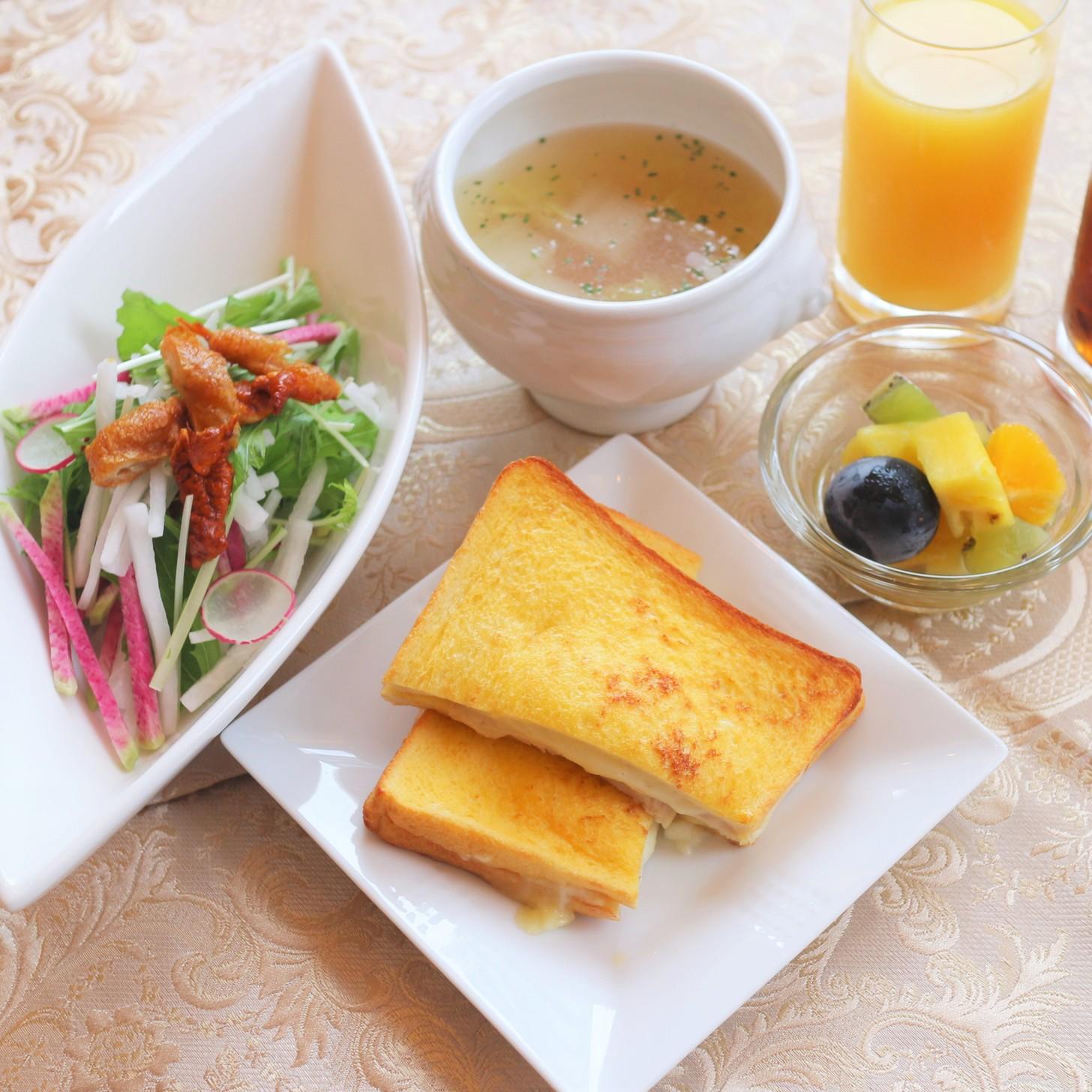 名古屋コーチンを堪能できる朝食セット ※写真はイメージです。