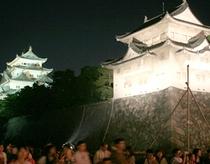 名古屋城夏夜