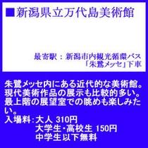●新潟県立万代島美術館