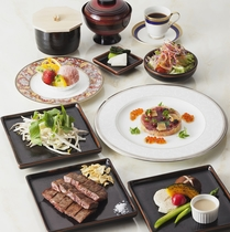 ■ステーキディナーコース
