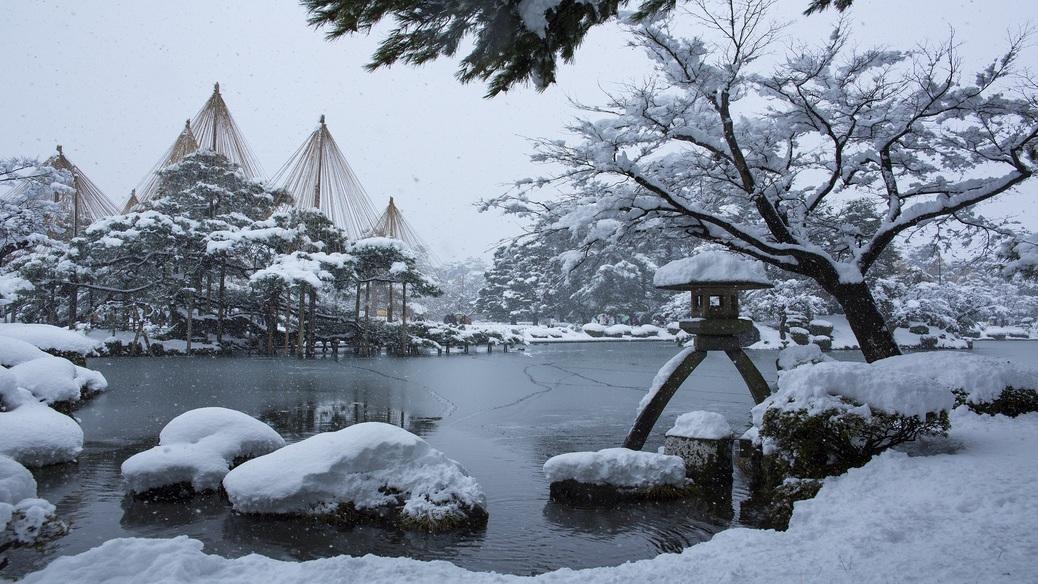 兼六園(冬)