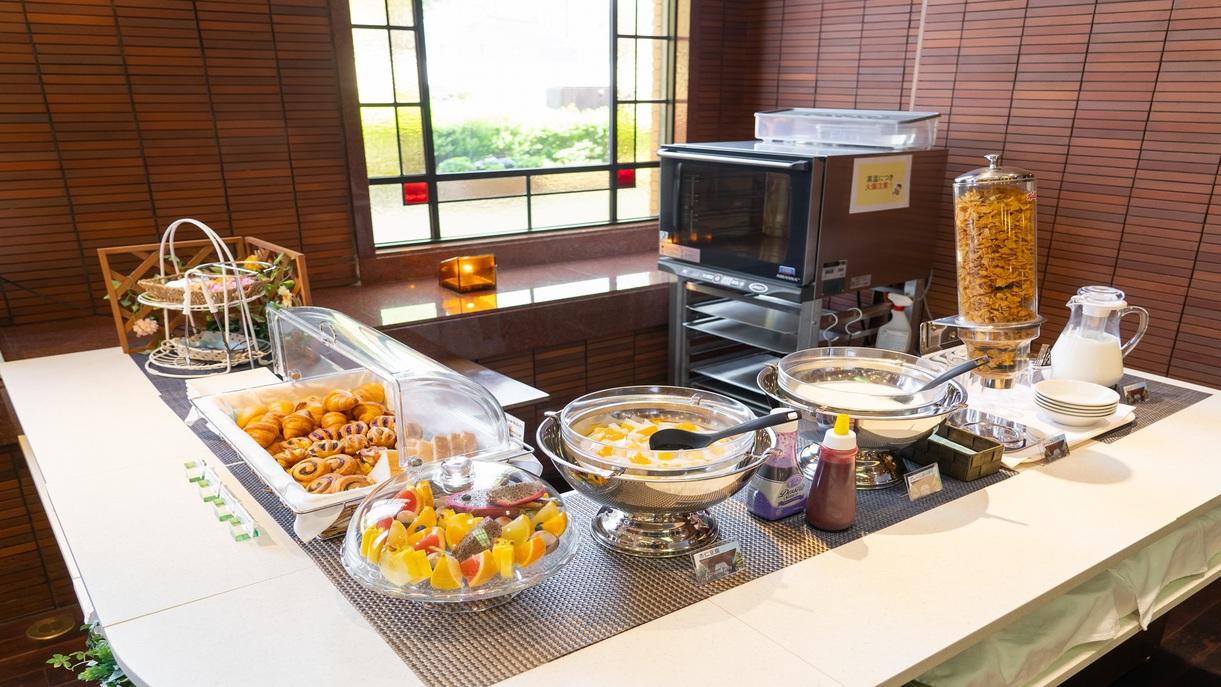 朝食バイキング・パンコーナー(イメージ)