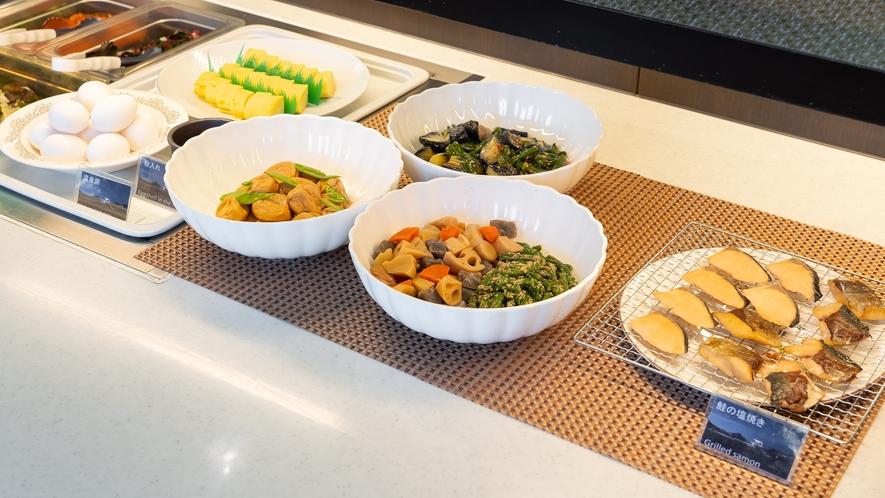 朝食バイキング・和惣菜コーナー(イメージ)