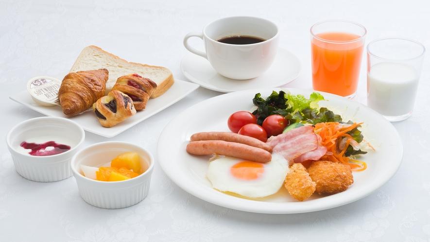 朝食・洋食盛り付け一例